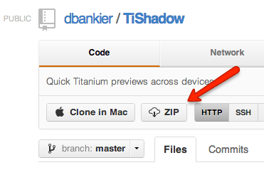 Download TiShadow from Github